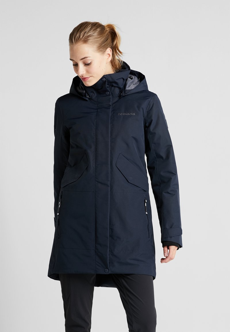Didriksons - TANJA WOMENS - Parka - dark night blue
