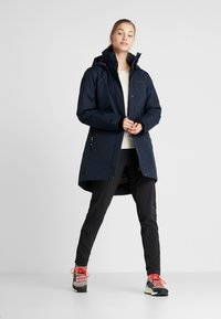Didriksons - TANJA WOMENS - Parka - dark night blue - 1