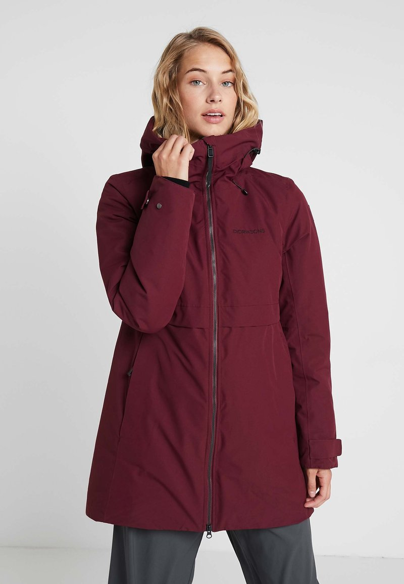 Didriksons - HELLE WOMENS  - Parka - anemon red