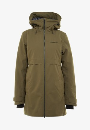 HELLE WOMENS  - Parka - crocodile green