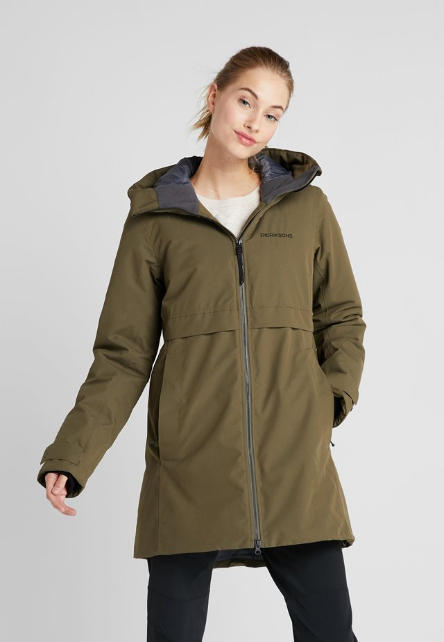 HELLE - Parka - crocodile green
