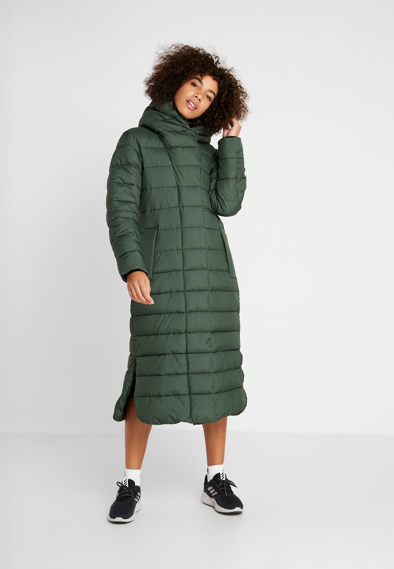 Didriksons - STELLA WOMENS COAT - Zimní kabát - spruce green