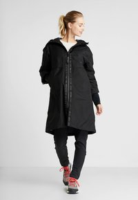 Didriksons - AINO WOMENS - Zimní kabát - black - 1