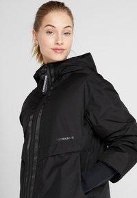 Didriksons - AINO WOMENS - Zimní kabát - black - 3