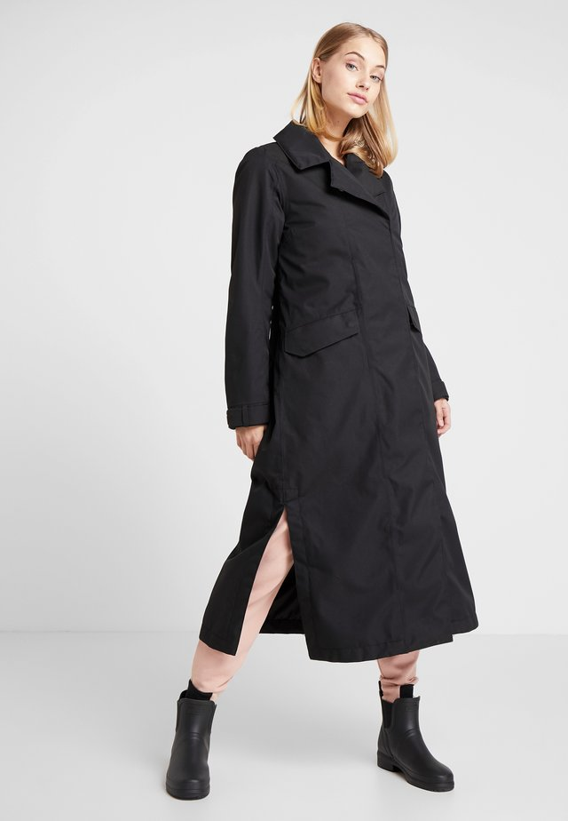 HANNA WOMENS COAT - Prochowiec - black