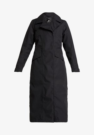 HANNA WOMENS COAT - Trenchcoat - black