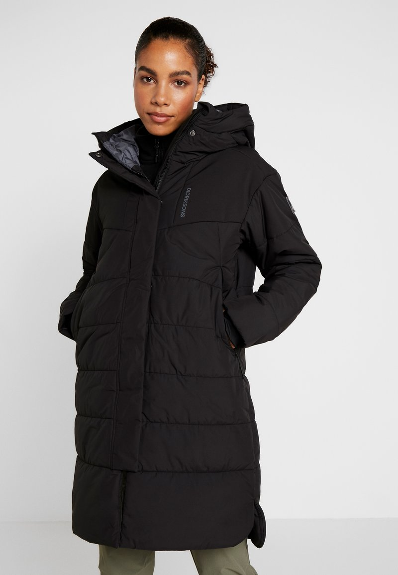 Didriksons - PYSEN  - Winter coat - black
