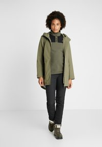 Didriksons - FOLKA WOMEN'S - Waterproof jacket - dusty olive - 1