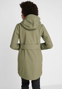 Didriksons - FOLKA WOMEN'S - Waterproof jacket - dusty olive - 2