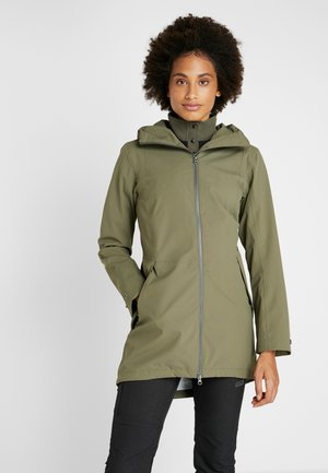 FOLKA WOMEN'S - Waterproof jacket - dusty olive
