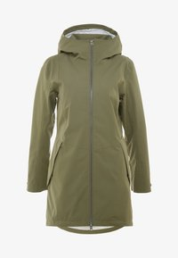 Didriksons - FOLKA WOMEN'S - Waterproof jacket - dusty olive - 4