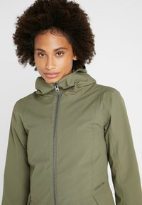 Didriksons - FOLKA WOMEN'S - Waterproof jacket - dusty olive - 3
