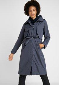 Didriksons - LOVA WOMEN'S COAT - Waterproof jacket - navy dust - 0
