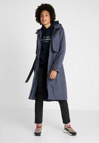 Didriksons - LOVA WOMEN'S COAT - Waterproof jacket - navy dust - 1