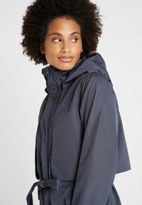 Didriksons - LOVA WOMEN'S COAT - Waterproof jacket - navy dust - 5