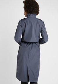 Didriksons - LOVA WOMEN'S COAT - Waterproof jacket - navy dust - 3