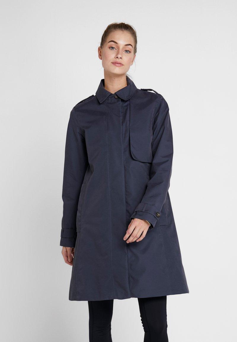 Didriksons - MILA WOMEN'S COAT - Waterproof jacket - navy dust