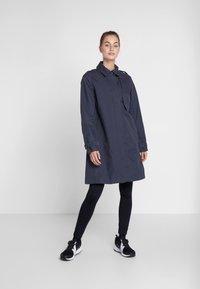 Didriksons - MILA WOMEN'S COAT - Waterproof jacket - navy dust - 1