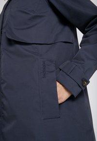 Didriksons - MILA WOMEN'S COAT - Waterproof jacket - navy dust - 4