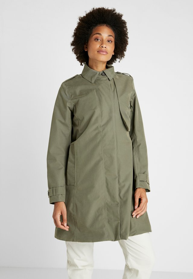 MILA WOMEN'S COAT - Regnjacka - dusty olive
