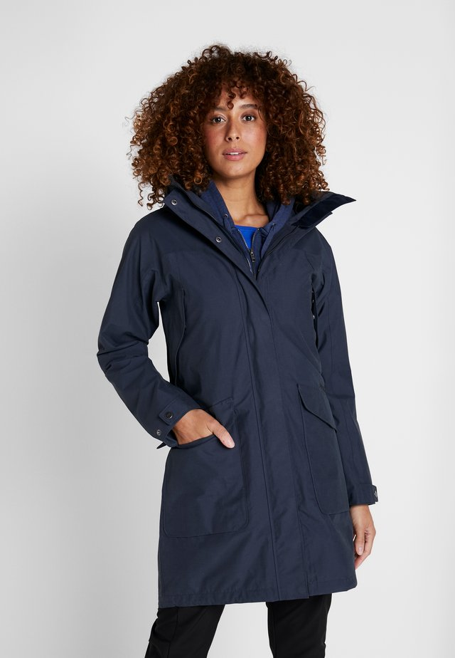 AGNES WOMENS COAT - Parkas - navy dust