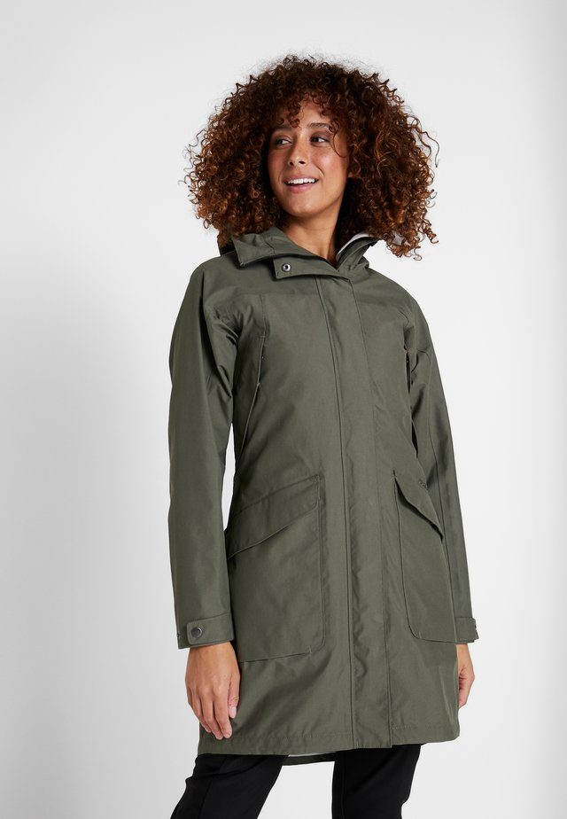 AGNES WOMENS COAT - Parkas - dusty olive