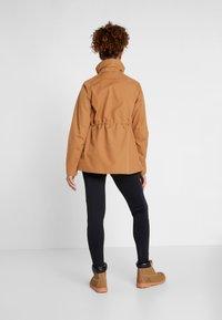 Didriksons - UNN WOMENS JACKET - Outdoor jacket - almond brown - 3