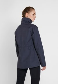Didriksons - UNN WOMENS JACKET - Outdoor jacket - navy dust - 3