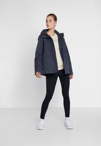 Didriksons - UNN WOMENS JACKET - Outdoor jacket - navy dust - 1