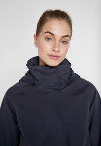 Didriksons - UNN WOMENS JACKET - Outdoor jacket - navy dust - 4