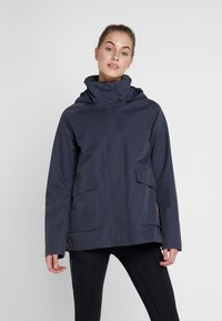 Didriksons - UNN WOMENS JACKET - Outdoor jacket - navy dust - 0