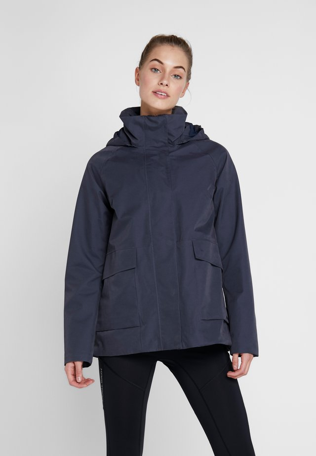 UNN WOMENS JACKET - Outdoorjacka - navy dust