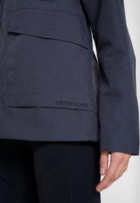 Didriksons - UNN WOMENS JACKET - Outdoor jacket - navy dust - 6