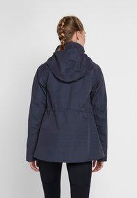 Didriksons - UNN WOMENS JACKET - Outdoor jacket - navy dust - 2