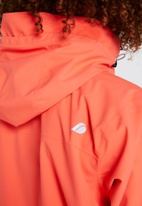 Didriksons - WIDA WOMENS JACKET - Hardshell jacket - coral red - 9
