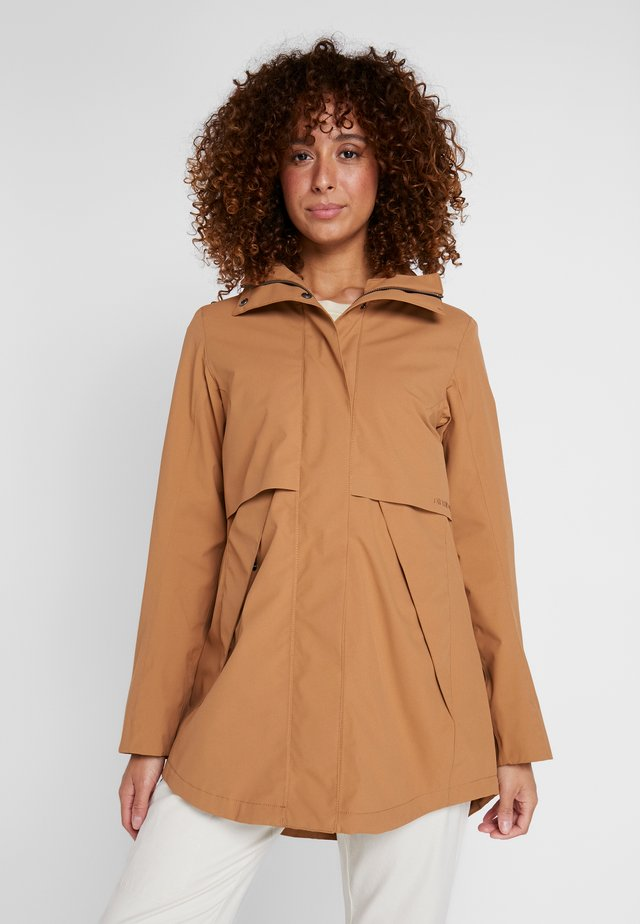 EDITH WOMEN - Parka - almond brown