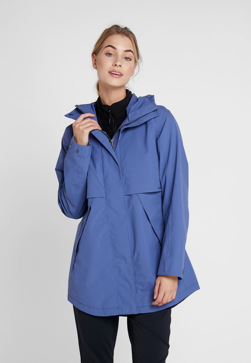 Didriksons - EDITH WOMEN - Parka - fjord blue