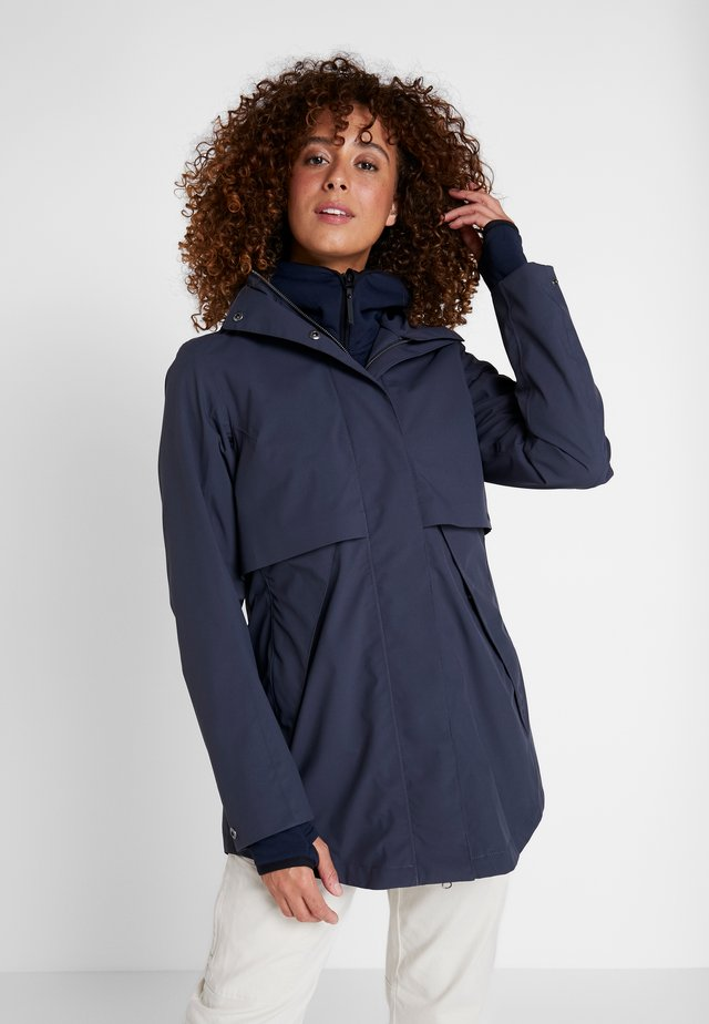 EDITH WOMEN - Parkas - navy dust