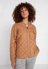 Didriksons - JUNI WOMENS JACKET - Outdoor jacket - almond brown - 3