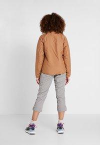 Didriksons - JUNI WOMENS JACKET - Outdoor jacket - almond brown - 2