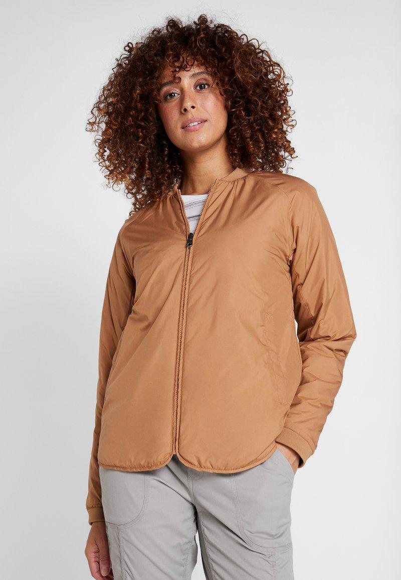 Didriksons - JUNI WOMENS JACKET - Outdoor jacket - almond brown