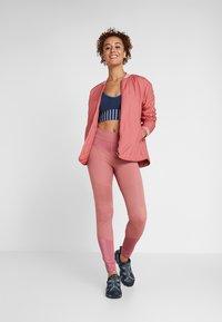 Didriksons - JUNI WOMENS JACKET - Outdoor jacket - pink blush - 1