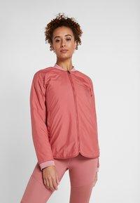 Didriksons - JUNI WOMENS JACKET - Outdoor jacket - pink blush - 0