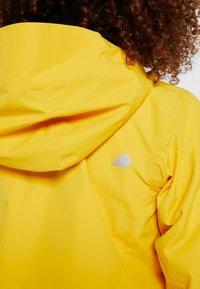 Didriksons - NOOR WOMENS - Waterproof jacket - oat yellow - 5