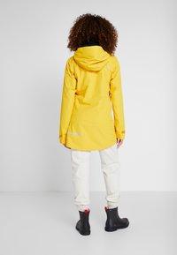 Didriksons - NOOR WOMENS - Waterproof jacket - oat yellow - 2