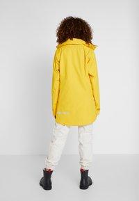 Didriksons - NOOR WOMENS - Waterproof jacket - oat yellow - 3