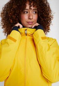 Didriksons - NOOR WOMENS - Waterproof jacket - oat yellow - 4
