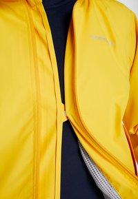 Didriksons - NOOR WOMENS - Waterproof jacket - oat yellow - 6