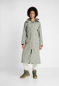 Didriksons - SISSEL WOMENS COAT - Waterproof jacket - mistel green - 0