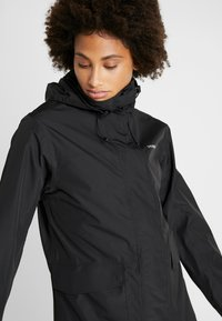 Didriksons - SISSEL WOMENS COAT - Impermeabile - black - 3